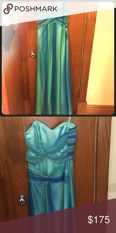 Selling this Prom Dress in my Poshmark closet! My username is: jbudynsky. #shopmycloset #poshmark #fashion #shopping #style #forsale #La Femme #Dresses & Skirts