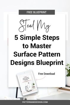 Follow my easy 5 step formula so you can create successful pattern designs (every single day) and build your own textile design or surface pattern design business. Take your art, illustrations and drawings and turn them into successful pattern repeats. #designtips, #patterndesign #printdesign #designresources Textile Design, Fabric Design, Print Design, Surface Pattern Design, Pattern Designs, Graphic Patterns, Floral Patterns, Kids Patterns, Photoshop Tips