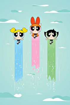 AS MENINAS SUPER PODEROSAS...THE POWERPUFF GIRLS