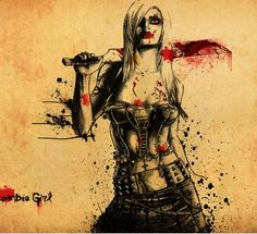 1000 images about dark art on pinterest dark art for Mirror zombie girl