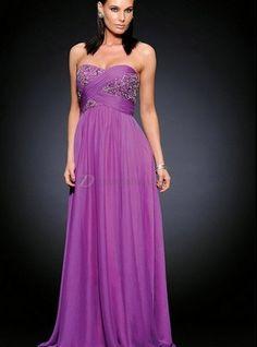 Purple Long Formal Dresses for Juniors