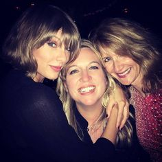 Taylor, Cheryl Strayed, and Laura Dern at Reese Witherspoon's birthday party 3.19.16