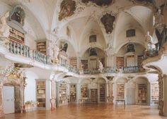 Pemberley white library...