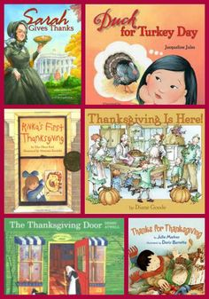 12 Great Thanksgiving Picture Books for Kids -- stories that teach kids about gratitude, giving and family.