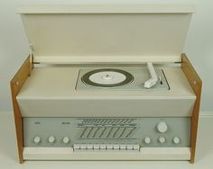 Atelier 2 (RC9) Radio-Phono, Designed by Dieter Rams, 1961