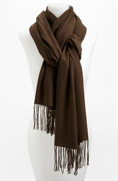 Nordstrom Tissue Weight Wool & Cashmere Wrap | Nordstrom