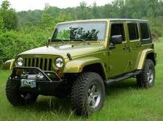 aev 2.5 lift rescue green - Google Search Green Jeep Wrangler, Jeep Mods, Wrangler Unlimited, Jeeps, Google Search, Car, Automobile, Jeep, Cars
