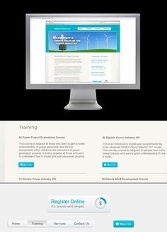 Power Courses website