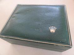 RARE ROLEX WOODEN WATCH CASE IN GREEN COLOR GENEVE SUISSE 11.00.2#Cartier@Bulgari