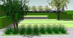 Tuinen in ontwerp - tuinarchitect creatief in groen | Minimalistische tuin met hoogteverschil | Torhout