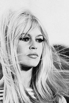 Brigitte Bardot (the girl that the Whale War activists renamed the Gojira after!) So cool!