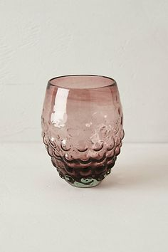 Just bought this on sale! Can't wait for it to arrive! Effervesce Stemless Wine Glass #anthropologie