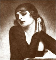 Uncredited and Undated Photograph Actor/Dancer Anita Berber, Berlin Cabaret, Anita Berber, 1920s, Jazz, Girl Interrupted, Flappers, Art Model, Our Lady, Vintage Beauty