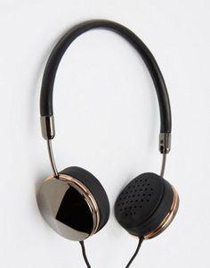 Auriculares en gris metálico Layla de FRENDS