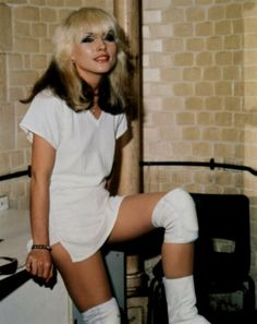 "We did a story not so long ago about how in her pre-Blondie days Deborah ""Debbie"" Harry worked as a Playboy bunny at New York City's Playboy Club. In searching for the Playboy Bunny pictures of Miss Harry, we found a bunch of hot pictures of Deborah in her Blondie heyday."