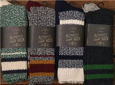 camp socks / j. crew