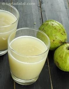 Healthy Guava Drink, For Athletes and Weight Loss recipe | Indian Home Remedies Recipes | by Tarla Dalal | Tarladalal.com | #4245