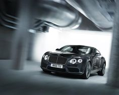 Bentley Continental GT V8 in Thunder