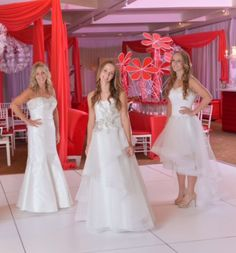 Gowns for Bat Mitzvah by Paula Varsalona.