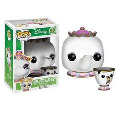 Disney Beauty and the Beast POP Mrs Potts and Chip Vinyl Figure