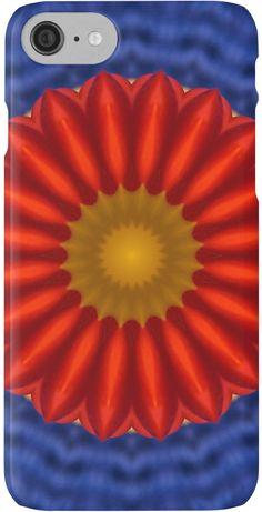 #Ente auf Blau mit Rot #Kaleidoscope #iPhone-Hüllen & #Skins von #pASob-dESIGN   Redbubble http://www.redbubble.com/de/people/pasob-design/works/14181284-ente-auf-blau-mit-rot-kaleidoscope?grid_pos=8&p=iphone-case