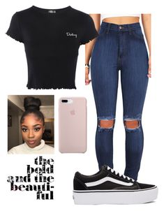 """Untitled #171"" by miraclemitchell on Polyvore featuring Topshop and Vans"