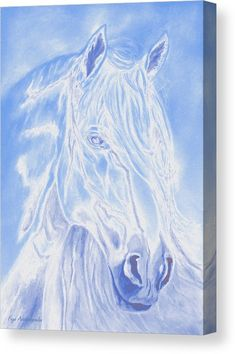 Celestial Stallion Wood Print by Faye Anastasopoulou. All wood prints are professionally printed, packaged, and shipped within 3 - 4 business days and delivered ready-to-hang on your wall. Canvas Art, Canvas Prints, Art Prints, Horse Oil Painting, Fine Art Posters, Thing 1, Art For Sale Online, Western Art, Wood Print