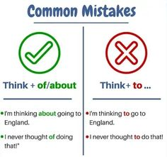 Common mistakes - You should remember - English Study Now Advanced English Grammar, Learn English Grammar, English Writing Skills, Learn English Words, English Language Learning, English Study, English Lessons, English Tips, English Class