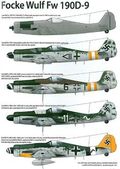 """Long-nose Dora"" Ww2 Aircraft, Fighter Aircraft, Military Aircraft, Luftwaffe, Air Fighter, Fighter Jets, Focke Wulf 190, Military Drawings, Aircraft Painting"