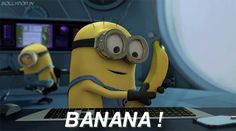 GIF Food excites you. 。◕‿◕。 See my Despicable Me  Minions pins https://www.pinterest.com/search/my_pins/?q=minions