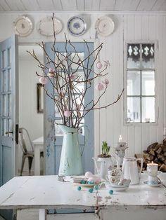shabby chic kitchen designs – Shabby Chic Home Interiors Casas Shabby Chic, Shabby Chic Mode, Estilo Shabby Chic, Shabby Chic Style, Parisian Chic, Cottage Chic, Cottage Style, Shabby Cottage, Country Decor