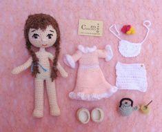 Crochet Hats, Apron Dress, Espadrilles, Aprons, Hair, Amigurumi, Accessories, Knitting Hats