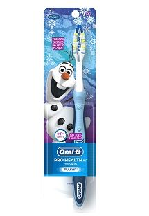 Oral-B Pro-Health Jr. Disney Frozen Battery Toothbrush with Olaf