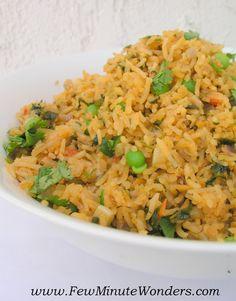 Chimichurri Rice - My Take On Trader Joes's Peruivan Chimichurri Rice   fewminutewonders