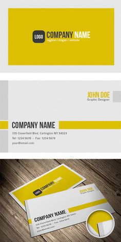 5 Free Business Card Templates (PSD)
