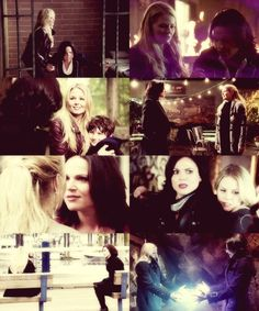 Swan Queen over the 2 seasons of Once Upon a Time.  My fav ship <3