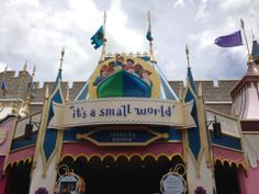 The great big world in a park in Orlando!