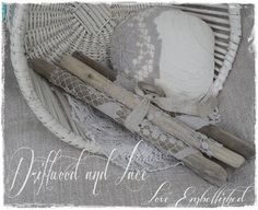 Driftwood Beach Decor Bundles Vintage Lace by LoveEmbellished