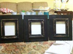Three 8x10 Sarah Frames by JoyfulExp on Etsy, $195.00