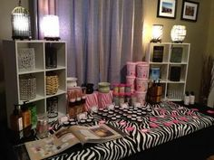 Pink Zebra Display