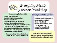 Everyday Meals with Wildtree! www.MyWildtree.com/judyeastman