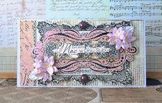 Crafty by AgnieszkaBe: Wedding Day Card Prima Marketing, I Card, Scrap, Wedding Day, Crafty, Frame, Home Decor, Pi Day Wedding, Picture Frame