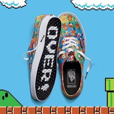 Vans is powered up with the new Vans x Nintendo collection. Your... http://SneakersCartel.com #sneakers #shoes #kicks #jordan #lebron #nba #nike #adidas #reebok #airjordan #sneakerhead #fashion #sneakerscartel