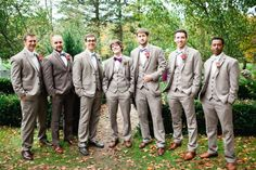 20 Dapper Art Deco Looks for Your Grooms and Groomsmen