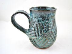 20 oz. Pottery mug - In stock