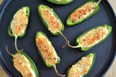 The view from Great Island: It's 5 O'Clock Somewhere Friday: Baked Jalapeno Poppers Appetizer Dips, Appetizers For Party, Appetizer Recipes, Yummy Appetizers, Cheese Recipes, Yummy Recipes, Recipies, I Love Food, Good Food