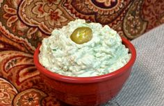 Fetamole - Inspired by Rockamole, this salty, creamy avocado dip is a crowd pleaser.  Guacamole at it finest.