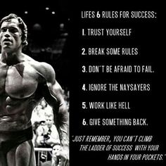 Arnold Schwarzenegger 》 Fitness Motivation