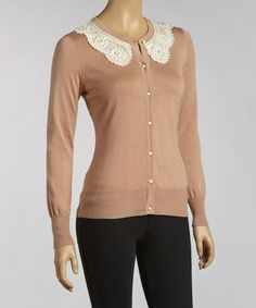 Take a look at this Rose Crocheted Cardigan by YAL on #zulily today!