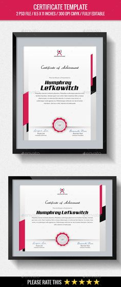 Multipurpose #Certificates #Template - Certificates Stationery Download here: https://graphicriver.net/item/multipurpose-certificates-template/20134594?ref=alena994